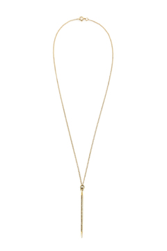 Melene Kent Jewels Gold Pave Spike Necklace - Product List Image