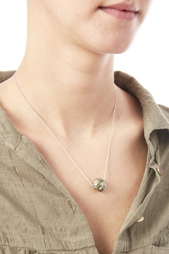 Melene Kent Jewels Pyrite Necklace - Alternate List Image