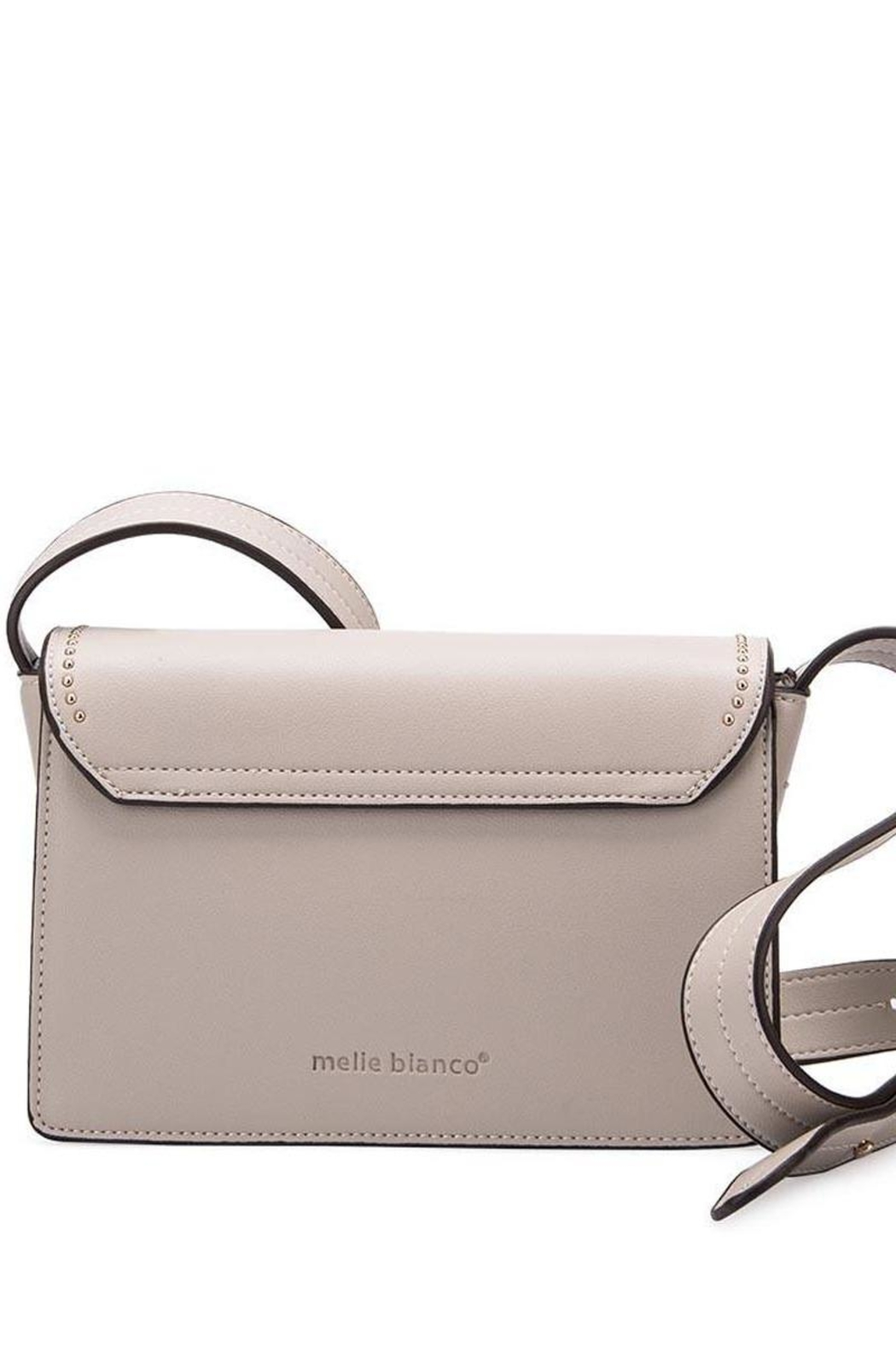 Melie Bianco Cherie Studded Crossbody - Back Cropped Image