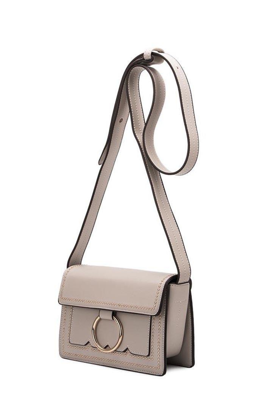 Melie Bianco Cherie Studded Crossbody - Front Cropped Image