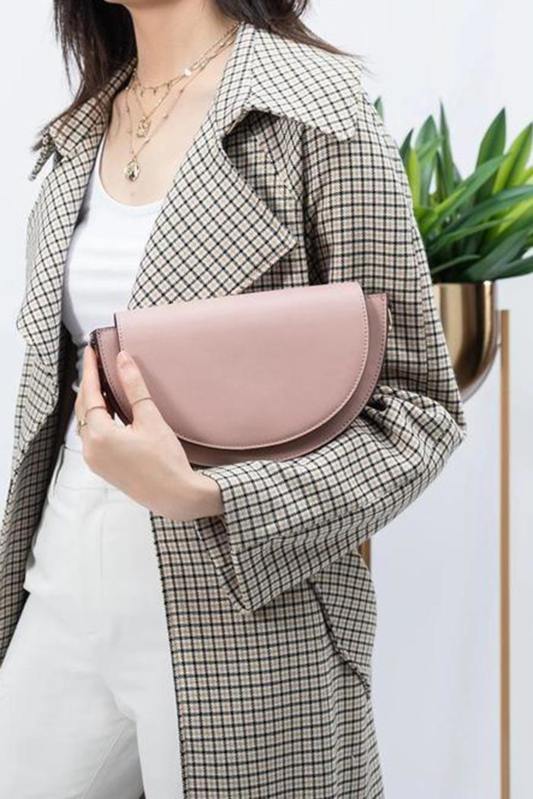 Melie Bianco Shelby Croosbody Bag - Front Full Image