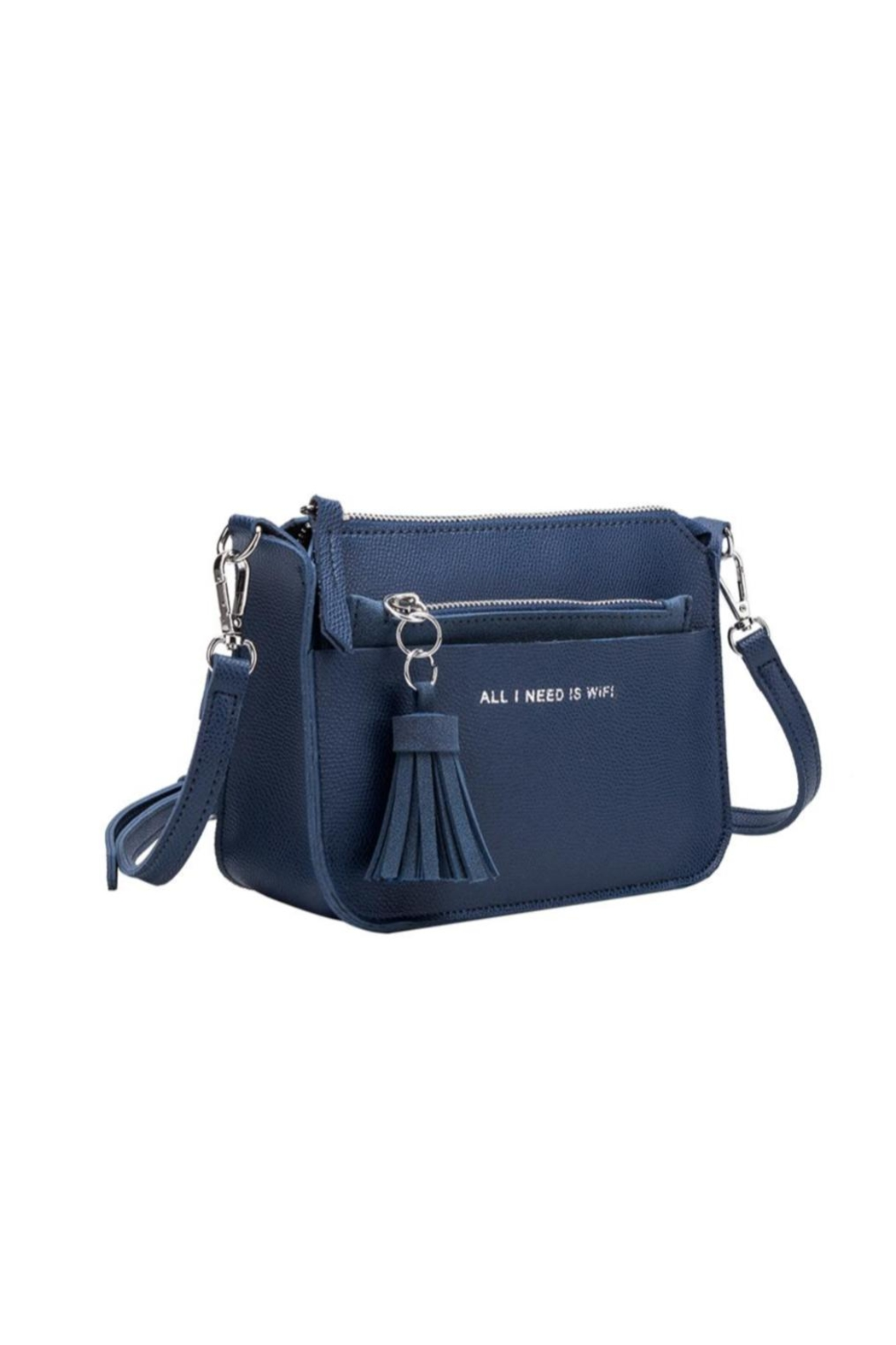 Melie Bianco Vegan Leather Purse - Front Cropped Image
