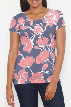 Whimsy Rose Melina Blooms - Short Slv T - Product List Image