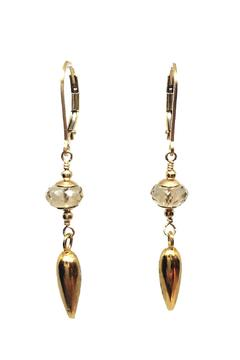 Melinda Lawton Jewelry Champagne Gold Earrings - Alternate List Image