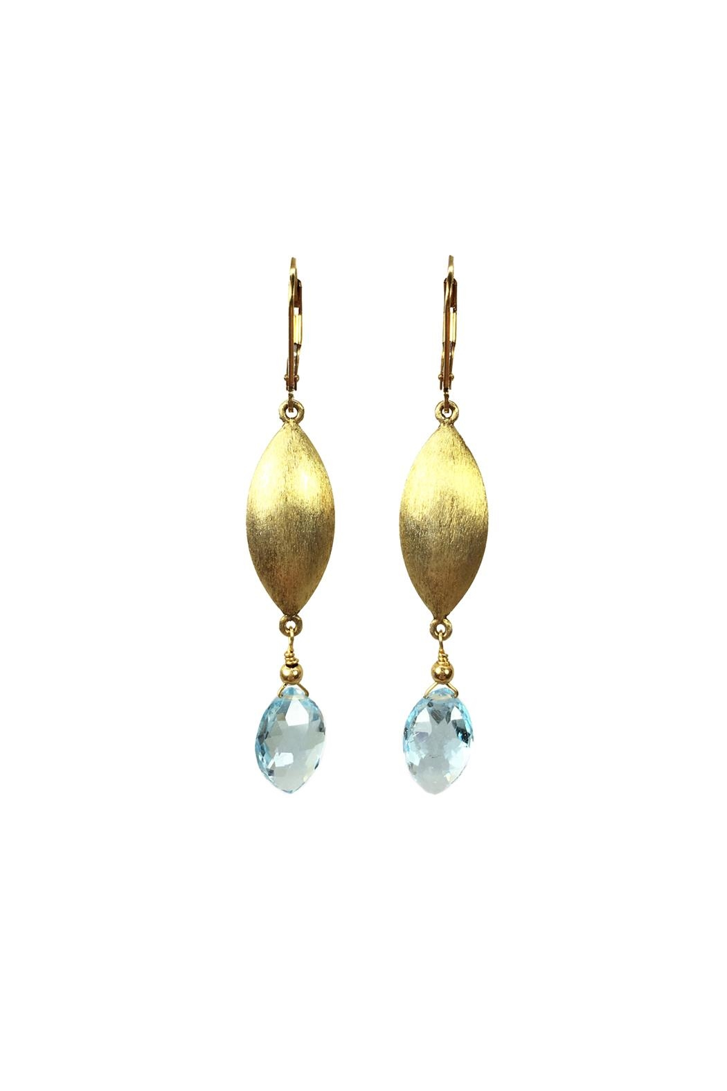 Melinda Lawton Jewelry Gold & Blue Topaz - Main Image