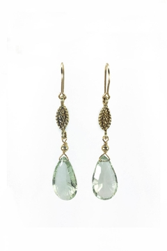 Shoptiques Product: Green Amethyst Earrings