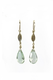 Melinda Lawton Jewelry Green Amethyst Earrings - Product Mini Image