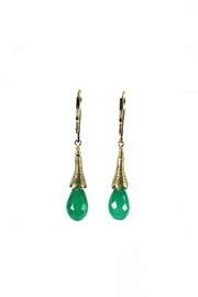 Melinda Lawton Jewelry Green Onyx Earrings - Product Mini Image
