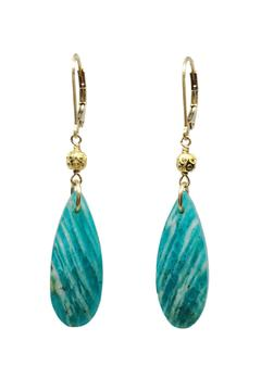 Melinda Lawton Jewelry Russian Amazonite Earrings - Alternate List Image