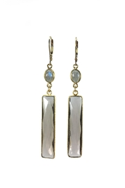 Melinda Lawton Jewelry Smokey Quartz & Labradorite Earrings - Product Mini Image