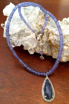 Melinda Lawton Jewelry Tanzanite Iolite Necklace - Alternate List Image
