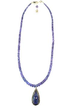 Melinda Lawton Jewelry Tanzanite Iolite Necklace - Product List Image