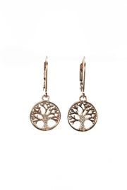 Melinda Lawton Jewelry Tree Of Life Earrings - Front cropped