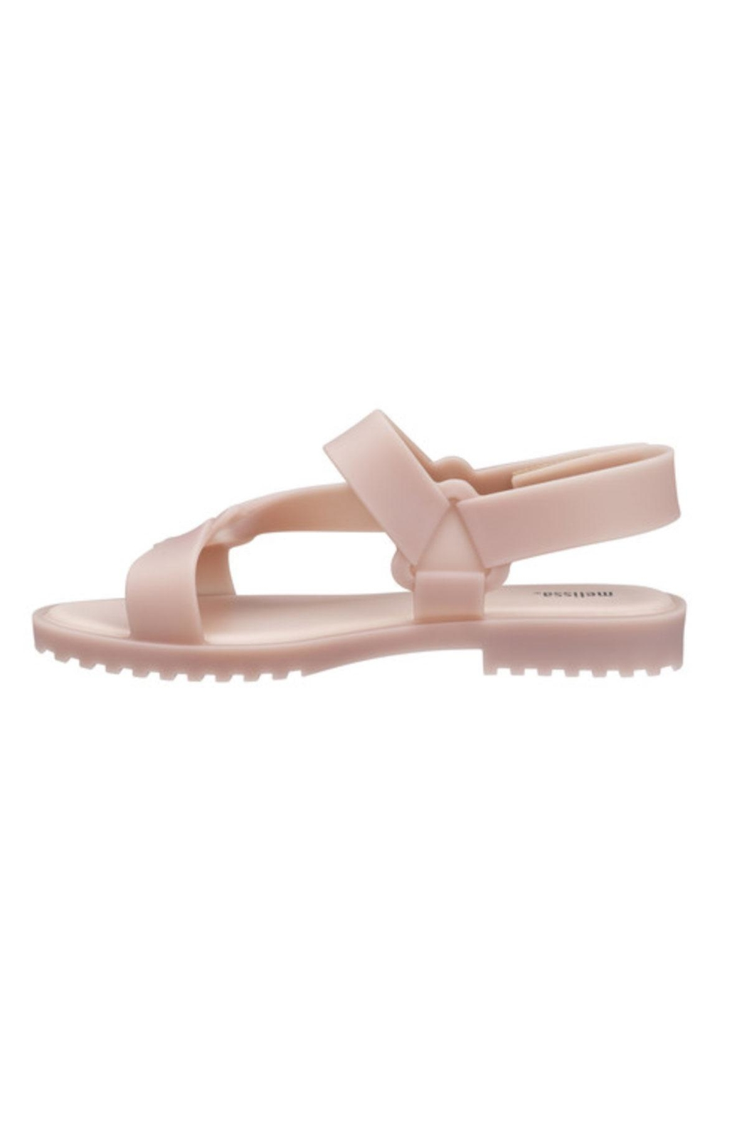 Melissa Connected Sandal Pink - Back Cropped Image