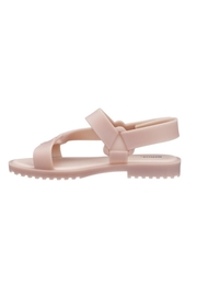 Melissa Connected Sandal Pink - Back cropped