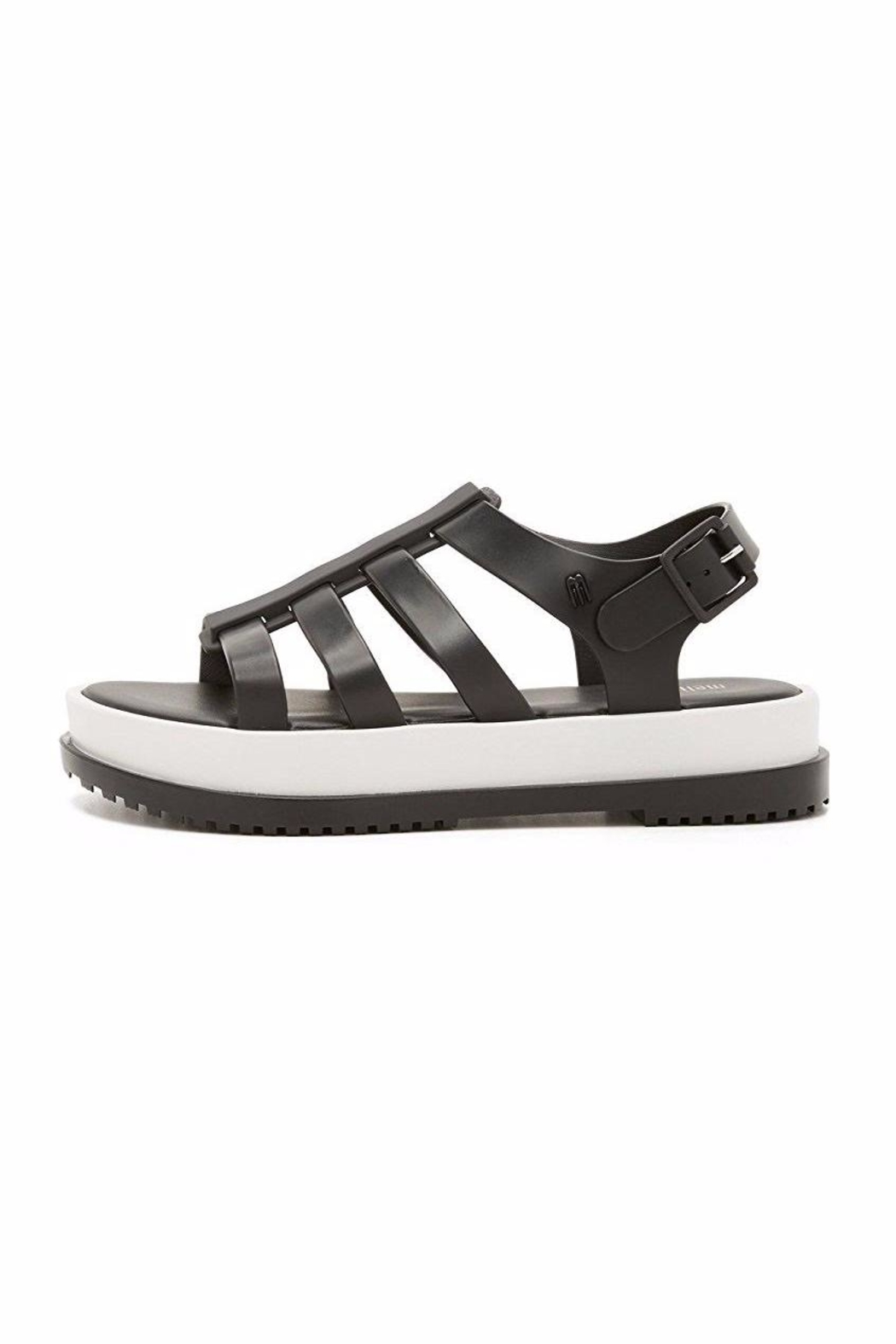 Melissa Black Casual Sandals - Side Cropped Image