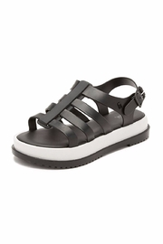 Melissa Black Casual Sandals - Front full body