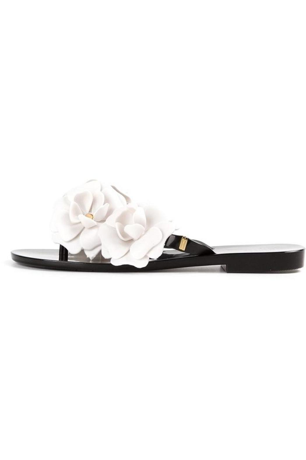 Melissa Jelly Flower Sandal From Indiana By Mink Shoptiques
