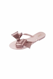 Melissa Jelly Bow Flip Flop - Front cropped
