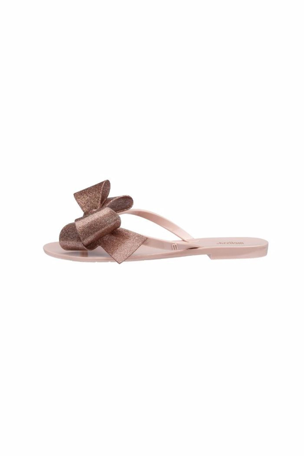 Melissa Jelly Bow Flip Flop - Front Full Image