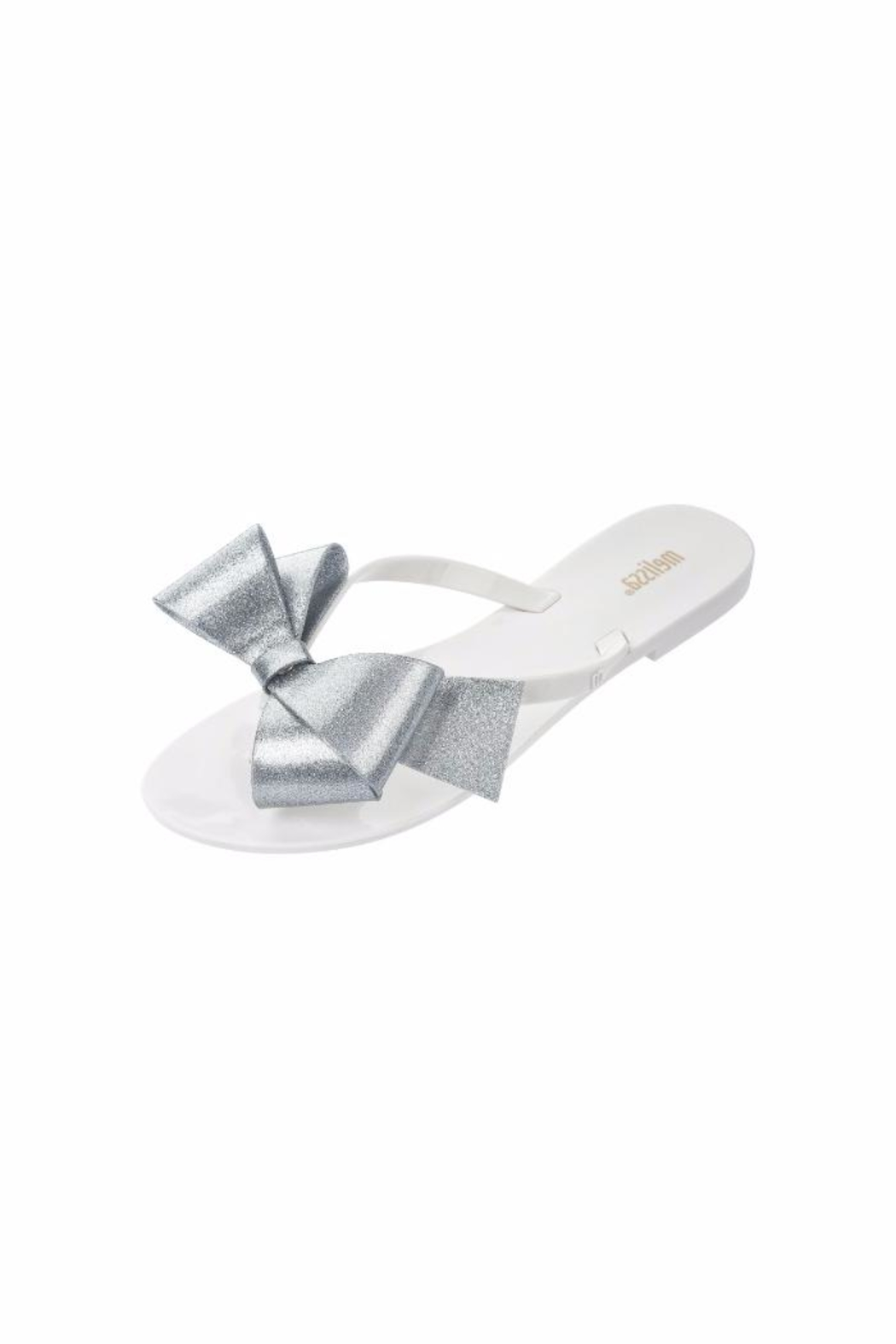 Melissa Jelly Bow Flip Flop - Front Cropped Image