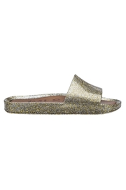 Melissa Sparkle Beach Slide - Front cropped