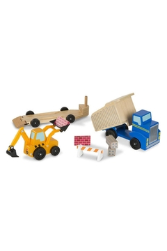 Melissa & Doug Dump Truck & Loader - Product List Image