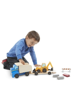 Melissa & Doug Dump Truck & Loader - Alternate List Image