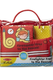 Melissa & Doug Firefighter Fred Soft Book - Product Mini Image