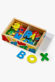 Melissa & Doug Magnetic Wooden Letters - Front cropped