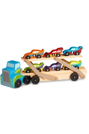Melissa & Doug Mega Race Car Carrier - Product Mini Image