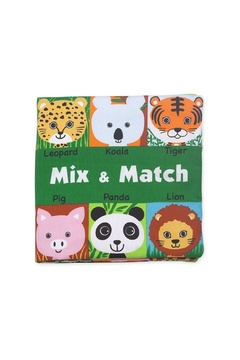 Melissa & Doug Mix & Match Soft Book - Product List Image