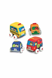 Melissa & Doug Pull Back Vehicle Toy - Product Mini Image