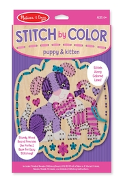 Melissa & Doug Stitch By Color - Product Mini Image