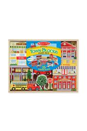 Melissa & Doug Town Blocks Set - Product Mini Image