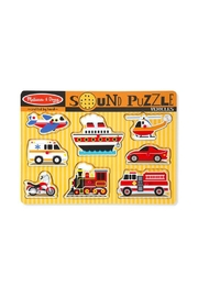 Melissa & Doug Vehicles Sound Puzzle - Product Mini Image