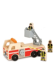 Melissa & Doug Wooden Fire Truck - Product Mini Image