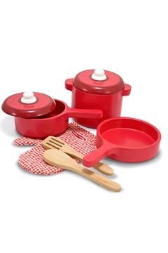 Shoptiques Product: Wooden Kitchen Set