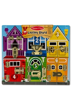 Shoptiques Product: Wooden Latches Board