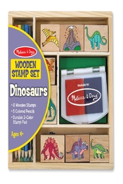 Melissa & Doug Wooden Stamp Set - Product Mini Image