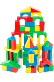 Melissa and Doug 100 Wood Blocks - Product Mini Image