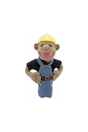 Melissa and Doug Construction Worker Puppet - Front cropped