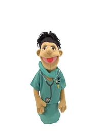 Melissa and Doug Doctor Puppet - Front cropped
