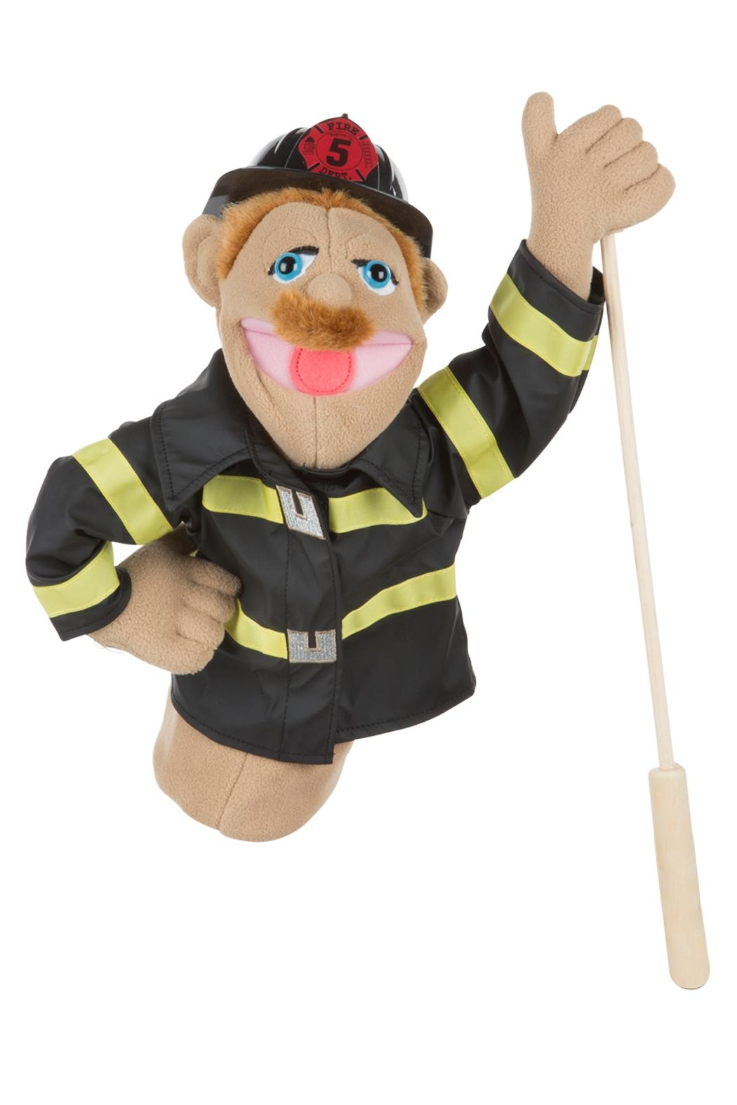 Melissa and Doug Fireman Puppet - Front Cropped Image