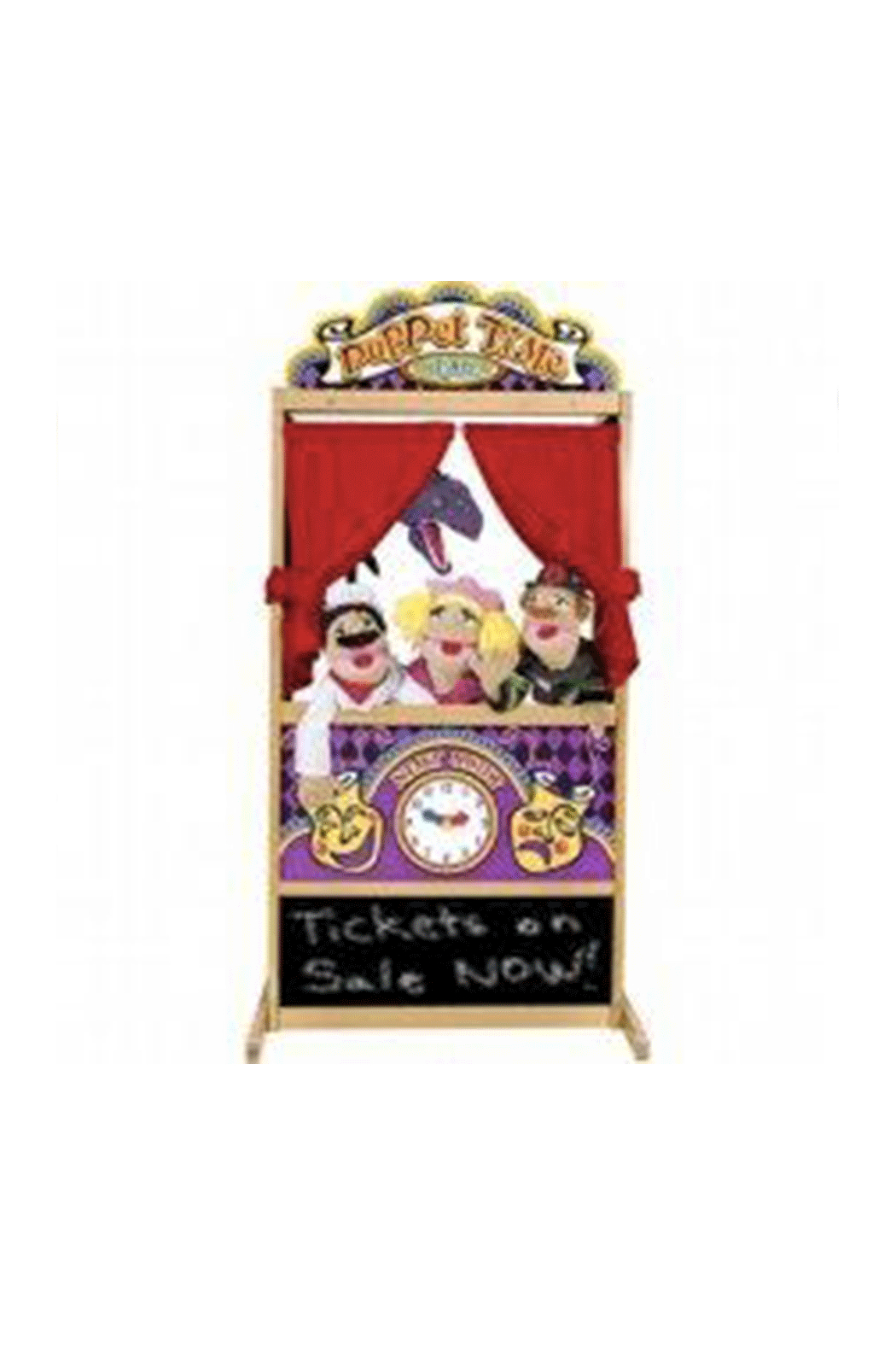 Melissa and Doug Floor Puppet Theater - Main Image