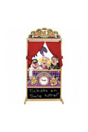 Melissa and Doug Floor Puppet Theater - Front cropped