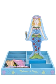 Melissa and Doug Mermaid Magnetic Dress-Up - Front cropped