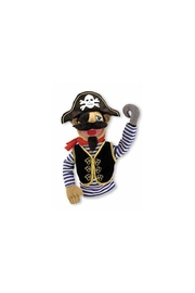 Melissa and Doug Pirate Puppet - Front cropped