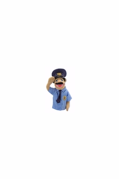 Melissa and Doug Policeman Puppet - Product List Image