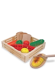 Melissa and Doug Wooden Cutting Food - Product Mini Image